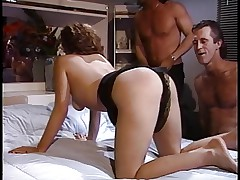 Wife gets fucked by husband and his friend