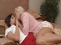 Mature with Young girl lesbian sex