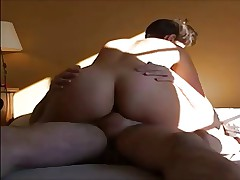 french wife rides and creampied