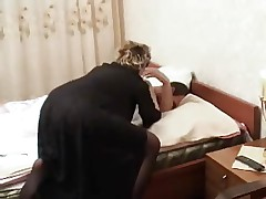 Mom Waking Young Lover