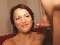 hot brunette gets it - old+young - csm