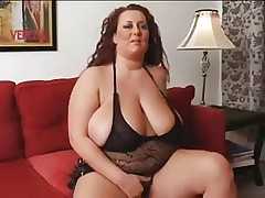 Solo bbw mature woman with big tits