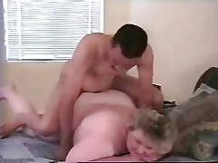 My fat mature wife ass fucked by younger black bull